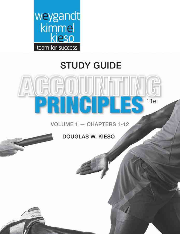 Accounting Principles By Weygandt, Jerry J. [Study Guide Edition]